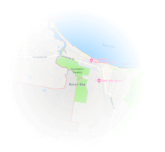 Byron Bay Map