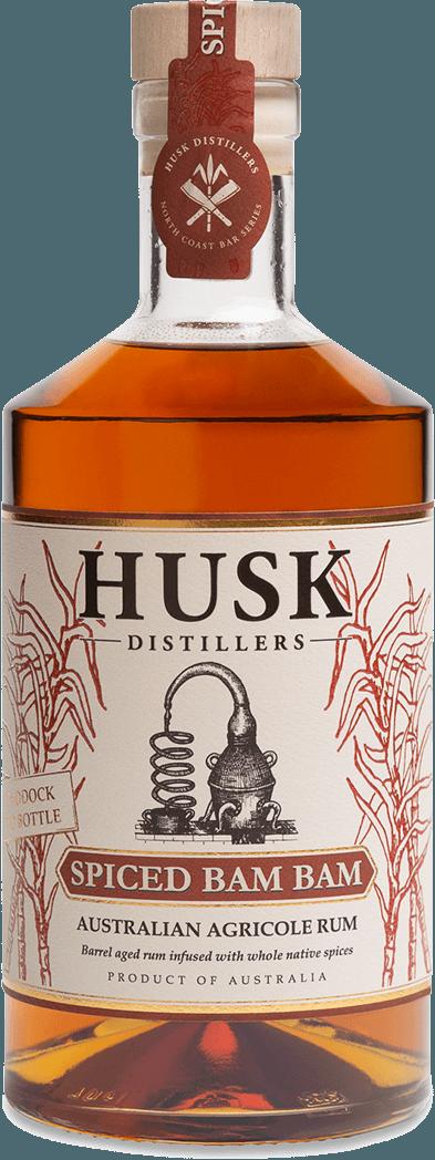 Husk Rum Bottle